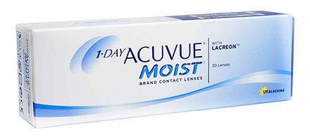 1 Day ACUVUE MOIST (30 lentillas)