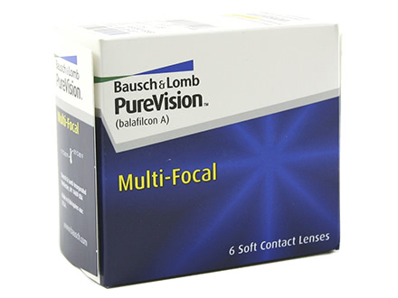 PureVision Multi-Focal (6 lentillas)