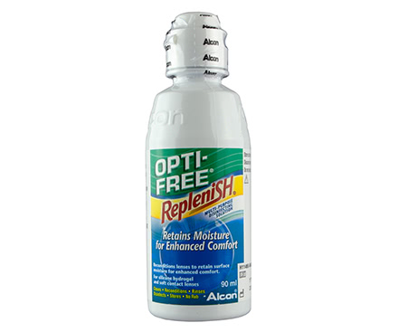 Opti-Free Replenish Pack de viaje (90 ml)