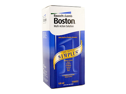 Boston Simplus Multi Action Solution (120 ml)