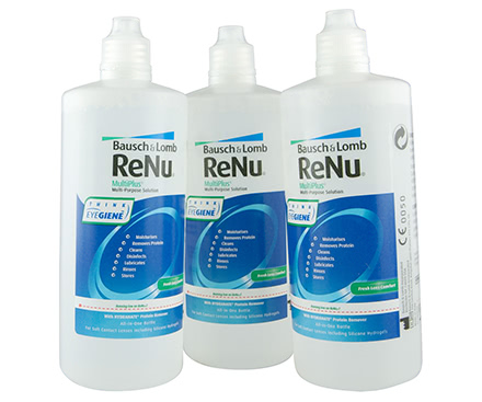 ReNu Multi Plus Pack Triple