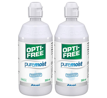 Opti-Free PureMoist Duo Pack (2x300 ml)