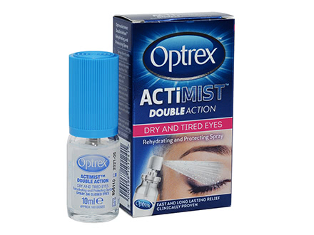 Spray Optrex ActiMist Doble Acción para ojos secos y cansados