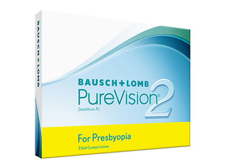 PureVision 2 HD For Presbyopia (3 lentillas)