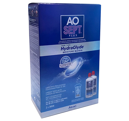 AOSept Plus HydraGlyde Duo Pack