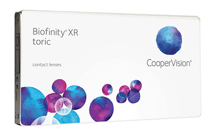 Biofinity XR Toric (3 lentillas)