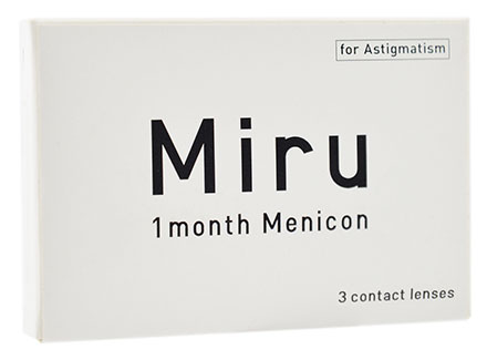 Miru 1month for Astigmatism
